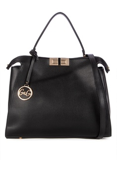 5514064f G&G black Satchel bag 6C30AAC2E1B826GS_1