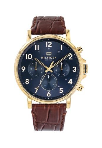 Tommy Hilfiger blue Tommy Hilfiger Navy Men's Watch (1710380) A0ECFAC3A35A61GS_1