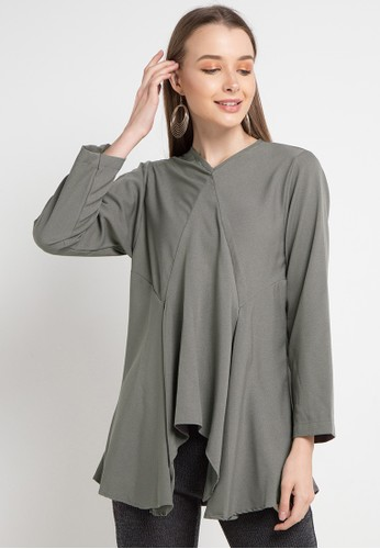 Covering Story grey Fazza Top-A 0571EAA9DFCF14GS_1