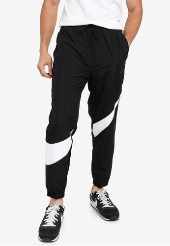 Nike black Men's Sportswear Hbr Woven Pants 7E33FAAEA7DF6BGS_1