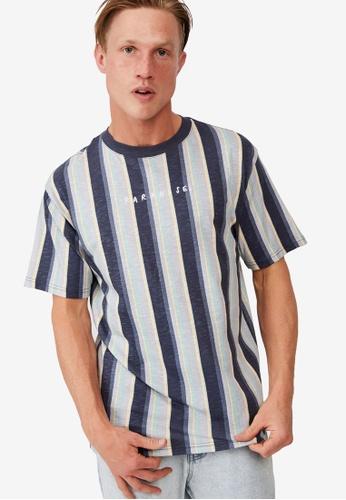 Cotton On navy Downtown T-Shirt C86F4AAA50731CGS_1