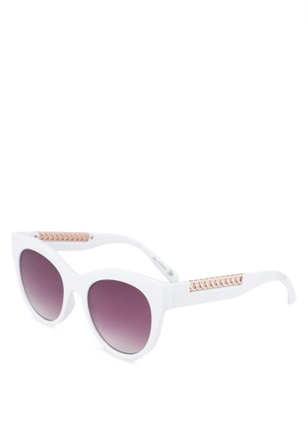 Call It Spring white Courgette Sunglasses 77A68GLE69EC6BGS_1