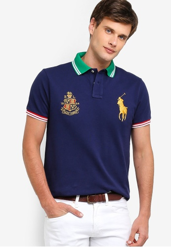 b72edac0da1e4 Shop Polo Ralph Lauren Short Sleeve Basic Mesh Polo Shirt Online on ZALORA  Philippines
