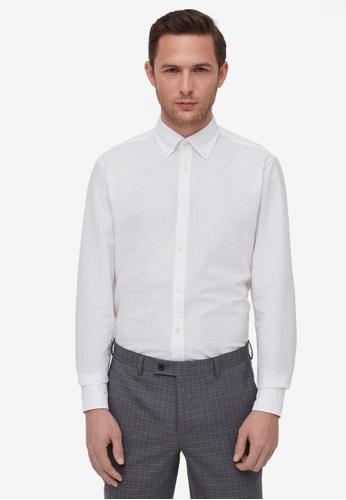 OVS white Button-Down Shirt 455BDAA2FED368GS_1