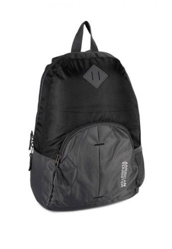 American Tourister black American Tourister AMT Hoop Backpack-Black Black 058FFACE553766GS_1