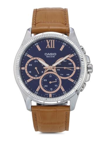 Casio brown Casio MTP-E315L-2AVDF Watch 3A952AC4A914CDGS_1