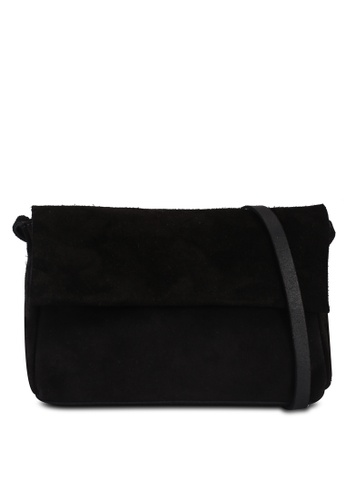 ONLY black Bern Suede Crossover Bag F6FE2AC5B11478GS_1