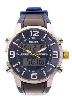 Quartz Analog Digital Watch SP-046 BLU