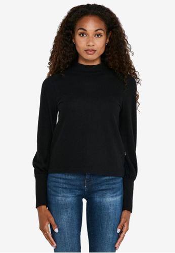 Noisy May black City Ava Long Sleeves Pullover D1C76AA4F36F25GS_1