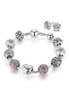 fa4e1bce54246 Buy YOUNIQ YOUNIQ 925S Silver Charm Bracelet with Champagne Pearl ...