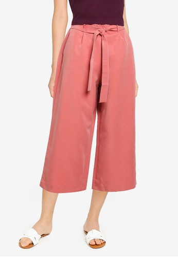 KOTON red Casual Trousers 649E8AA640670AGS_1