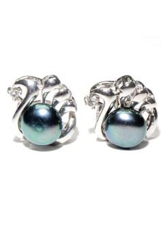 Shell Freshwater Pearl Earrings 2