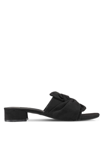 Dorothy Perkins black Black Summer Twist Mules 0A789SH5D3F5CBGS_1