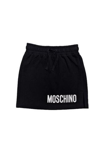 MOSCHINO BABY KID TEEN black MOSCHINO GIRLS SKIRT 16975KADF1A74FGS_1