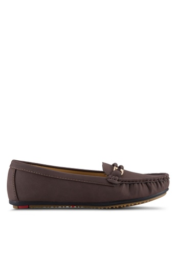 Noveni brown Casual Loafers NO978SH75VTOMY_1