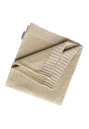 Grand Atelier gold Grand Atelier Gold Knitted Throw Blanket FCF20HL3293DECGS_1