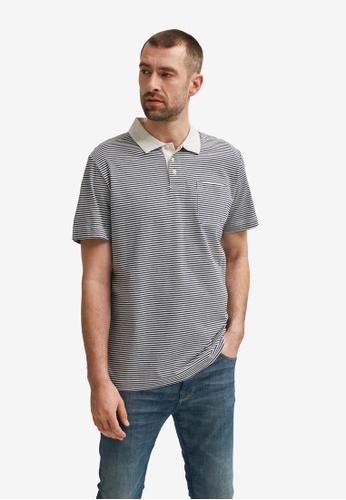 Selected Homme navy Maxwell Short Sleeve Polo Shirt 348E2AA52C1C30GS_1