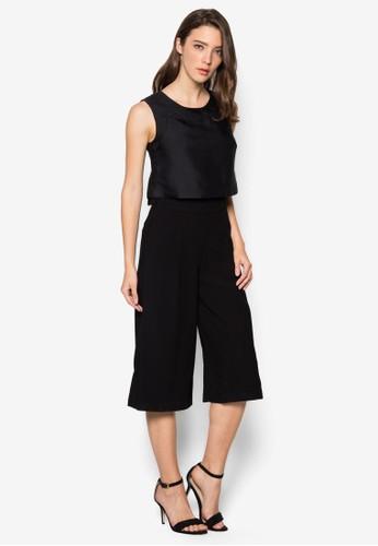 層疊無袖連身褲, 韓系時尚, esprit 折扣服飾