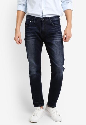 CR7 藍色 Type C窄管牛仔褲 CR532AA95EEYMY_1