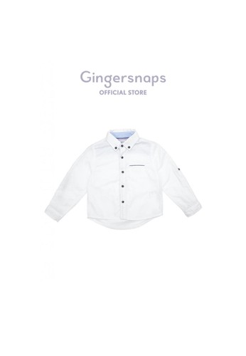 Gingersnaps white Gingersnaps Baby Neo Japonique Woven Shirt White 89436KA13F3CFBGS_1