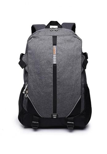 Lucky JX grey High Grade Sebastian Travel Backpack C7EEFACDF5841AGS_1