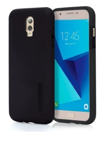 5089e3cc2b MobileHub black Dual Pro Shockproof Case for Samsung Galaxy J7 Plus  MO220AC0KDRHPH 1