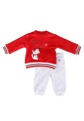 Babybol red Baby 2 Piece Set 44A86KA6BFA231GS_1
