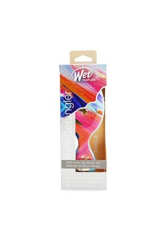 Wet Brush WET BRUSH - Pro Mini Detangler Bright Future - # Teal 1pc 35A2FBE329890BGS_1
