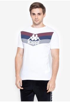 b7caa5c272ed3 Kappa white Authentic Athletic T-shirt A45A8AA3BA1B63GS 1