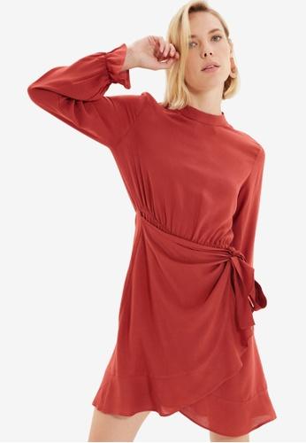 Trendyol red Brick Dress C0864AAF66A06DGS_1