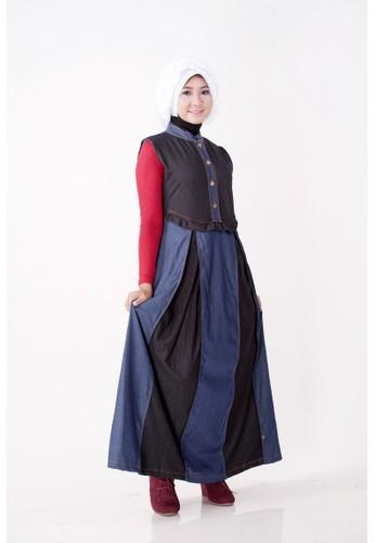 delarosa blue Delarosa Jeans Muslim D601 DE250AA87CNKID_1