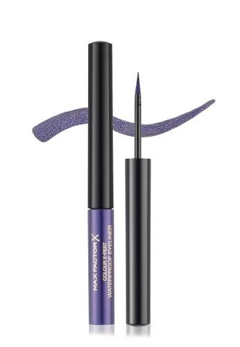Max Factor purple Max Factor Colour X-Pert Waterproof Eyeliner 1.7 ml, 03 Metallic Lilac 8DB2DBECAB4E14GS_1