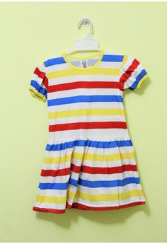 Pre-Teen Dress with Sleeves 116 Yellow 6 years old
