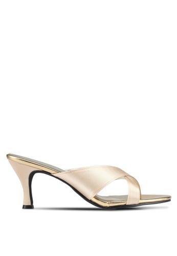 Spiffy beige The Simple Elegant Ladies Heels E95B6SH938BB41GS_1