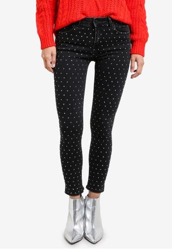 Mango black Crystal Strass Jeans MA193AA0S6JCMY_1