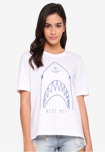ONLY white Haya Shark Top 03094AA924C0EFGS_1