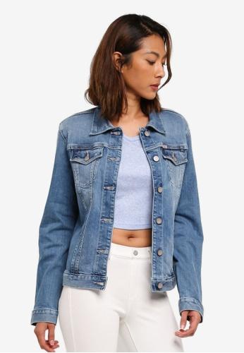 Calvin Klein blue Clean Trucker Jackets - Calvin Klein Jeans F3CABAA1CD8E67GS_1