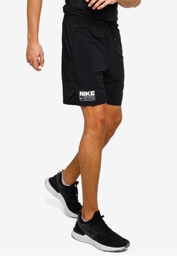 Nike black Men's Flex Graphic Training Shorts 1653DAA505D700GS_1