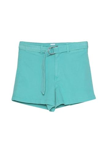 GAP green High Rise Shorts D22A4AABC63ACEGS_1