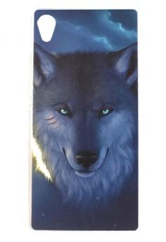 Sony Xperia M4 Aqua Wolf Design Hard Case