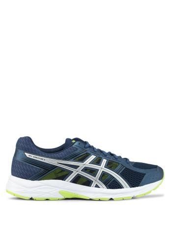 Asics blue Gel-Contend 4 Shoes AS989SH0SVRFMY_1