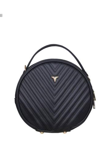 Verchini black Verchini Round Tote Bag 5DB9AACC195785GS_1