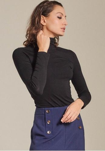 Dressing Paula black Jersey Turtleneck A5C4CAA78B79DBGS_1