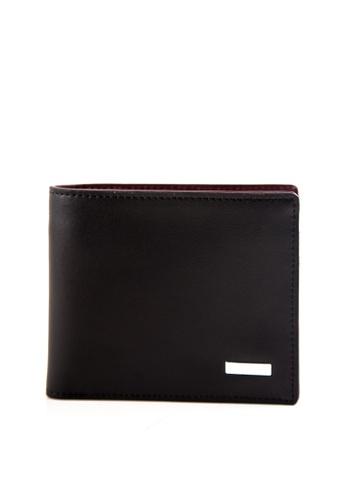 Otto black Bi-fold Wallet OT407AC0JKXZPH_1