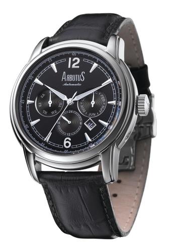Arbutus black Calendar Automatic AR142AC82HZDSG_1