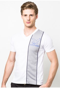 UC Ateneo Campipe Casual V-neck T-shirt