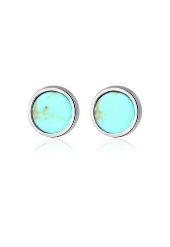 SUNRAIS silver High quality Silver S925 silver fashion earrings 5E601AC520F4FDGS_1