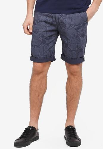 ESPRIT 海軍藍色 休閒短褲 60419AA82A26E6GS_1