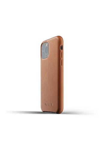 Mujjo brown Mujjo Full leather case for iPhone 11 Pro Tan E58D0AC925781CGS_1