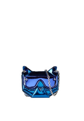 KARL LAGERFELD blue Cyber Choupette Mini Crossbody E239DAC67F8E09GS_1